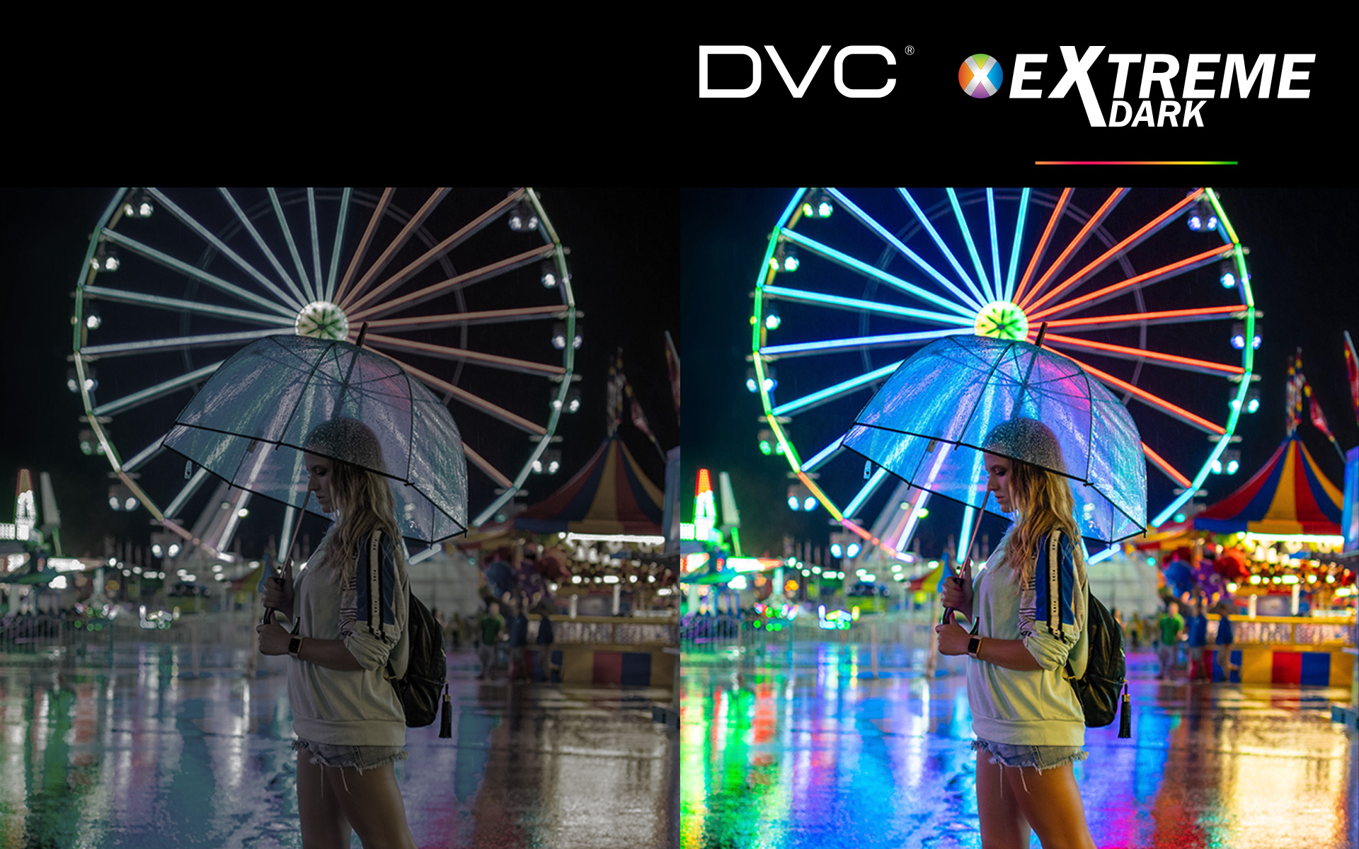 Extreme Dark technology – Perfect image even in complete darkness