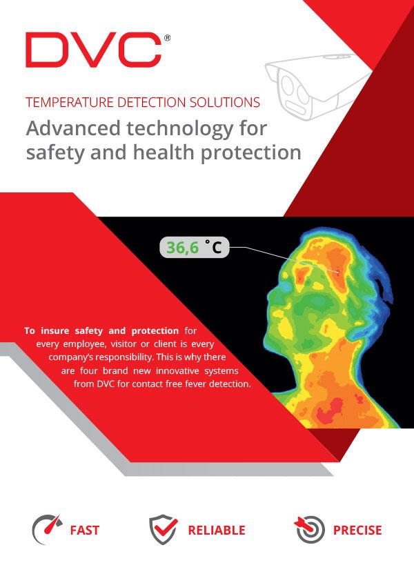 DVC temperature detection solutions